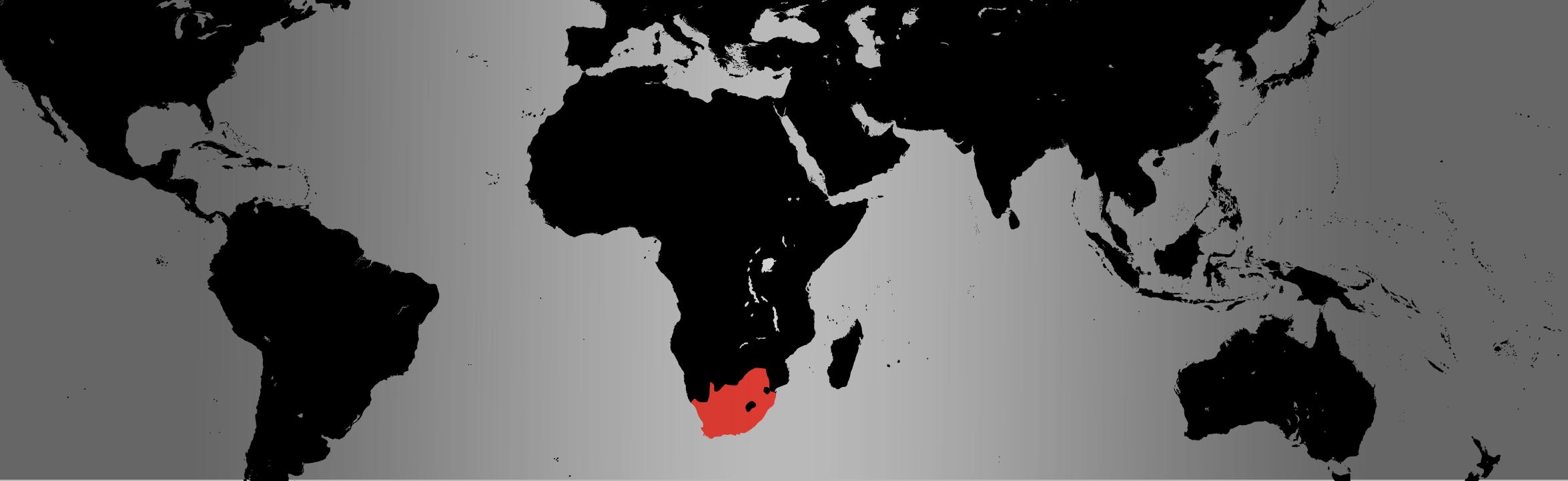 black crowned crane map