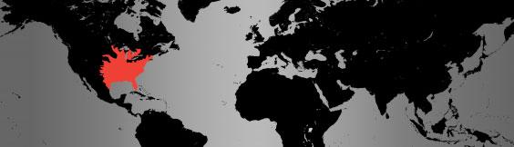 eastern hognose snake map
