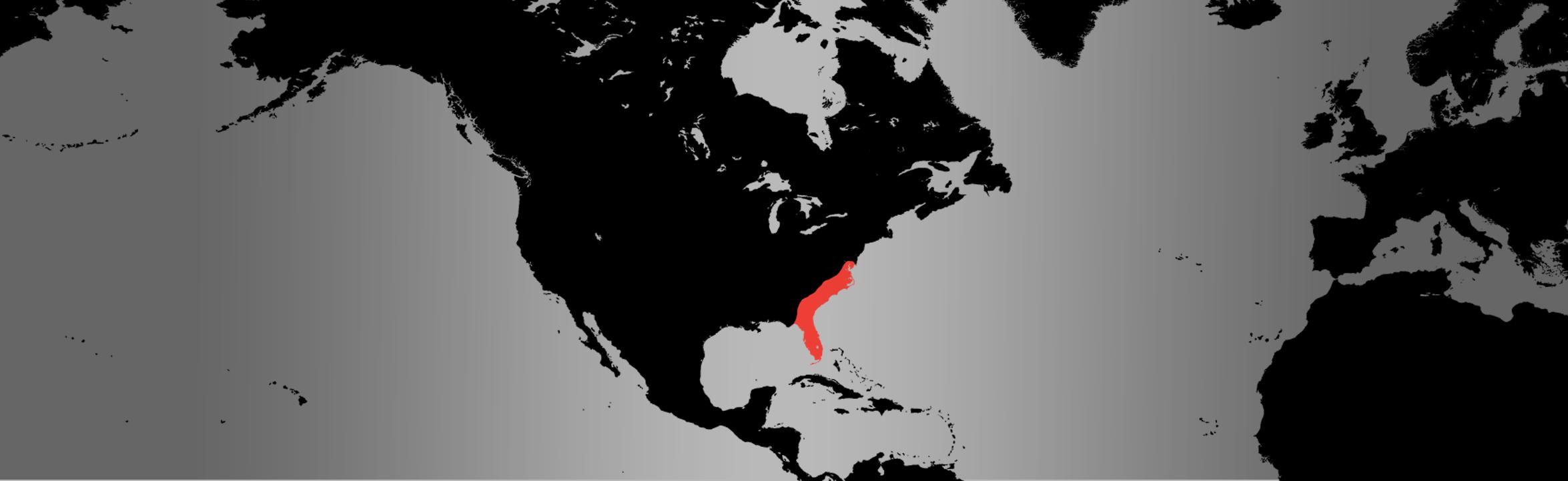Eastern Newt map