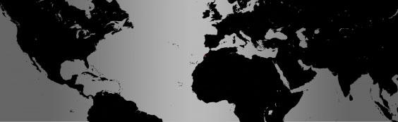 Waldrapp Ibis map