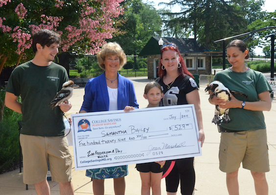 zoo keeper for a day winners