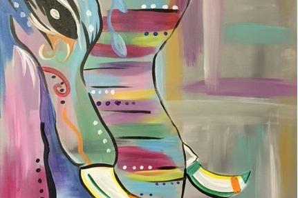 fancy elephant painting header