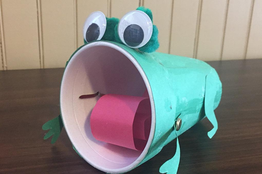 frog craft header
