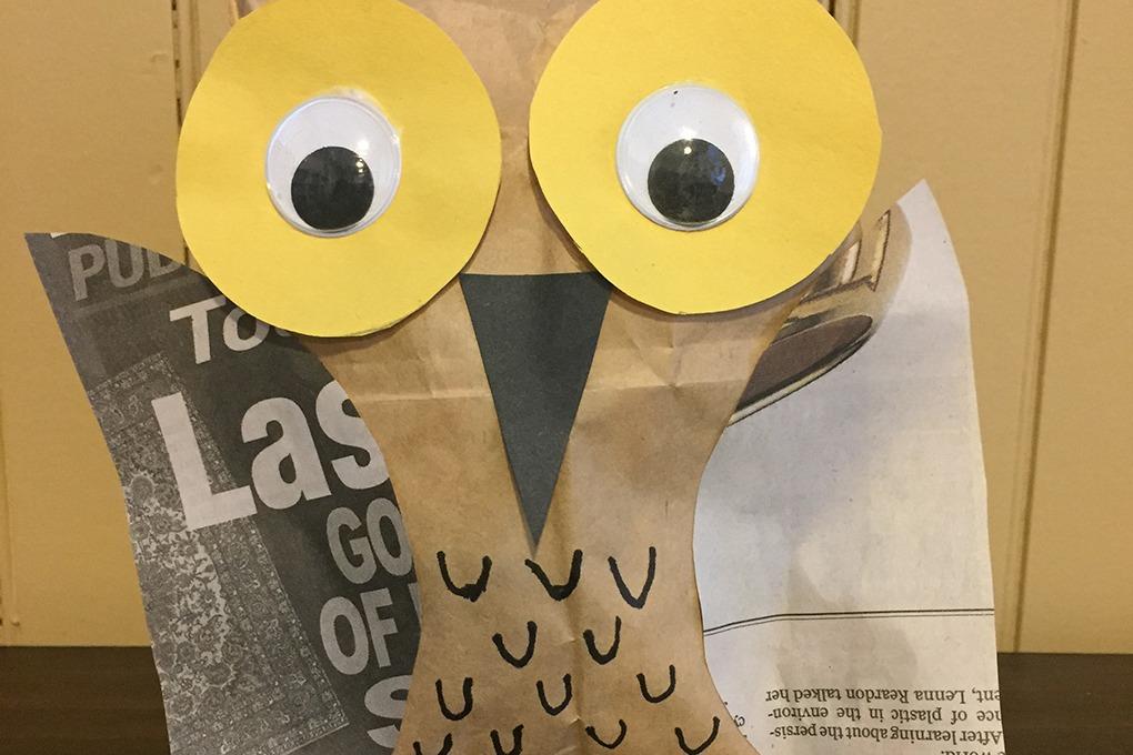 owl craft header