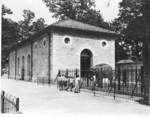 historic elephant house habitat.