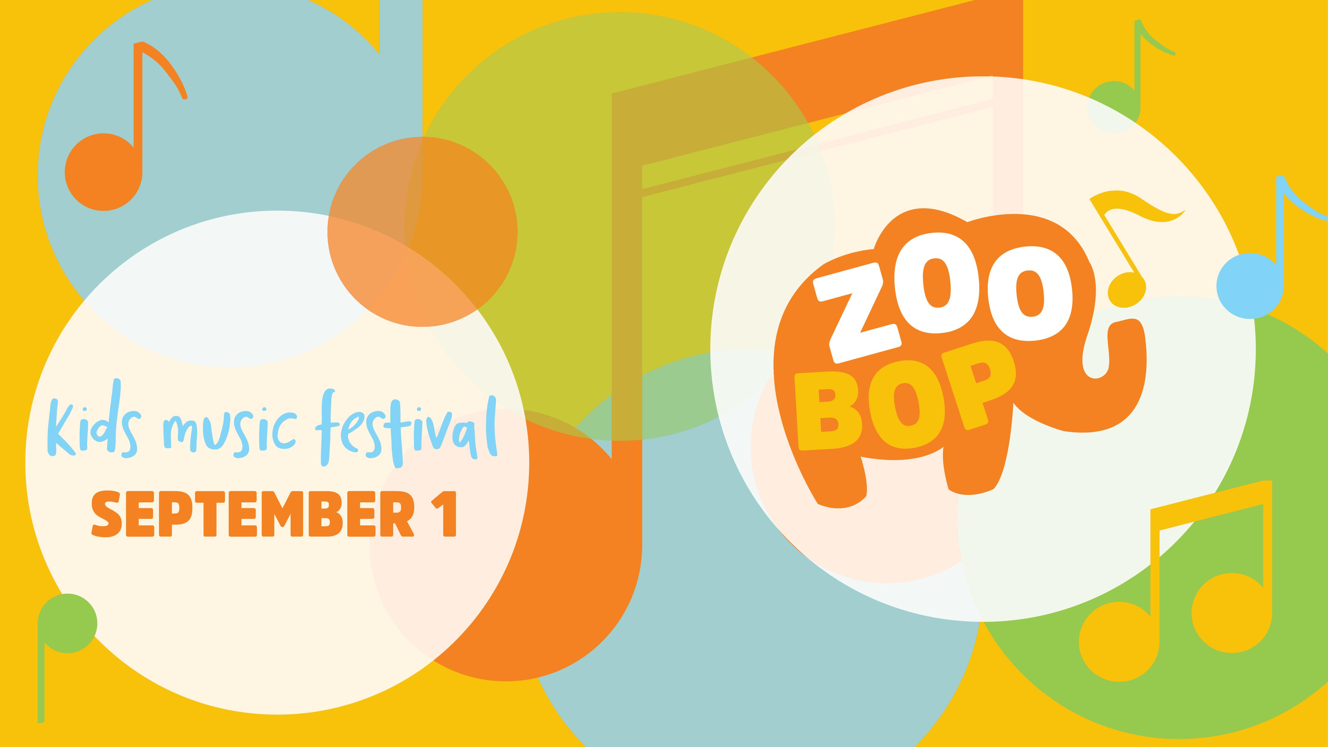 Zoo Bop 2018 Promo Poster