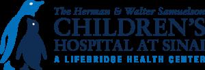 The Herman & Walter Samuelson Children's Hospital at Sinai a Lifebridge Health Center logo