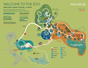 Baltimore Zoo Map baltimore aquarium map   Allcanwear.org