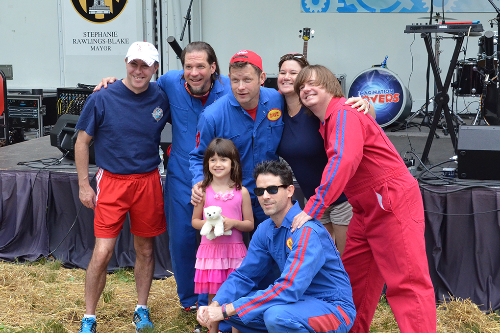 imagination movers with children