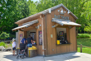 bait shack food stand