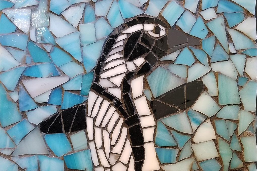 penguin mosaic