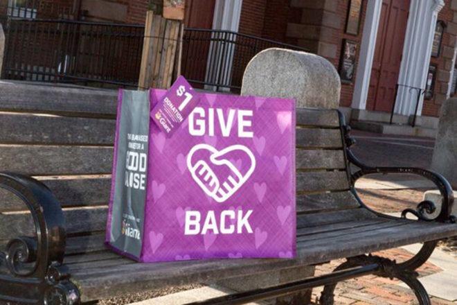 Giant give back reusable bag
