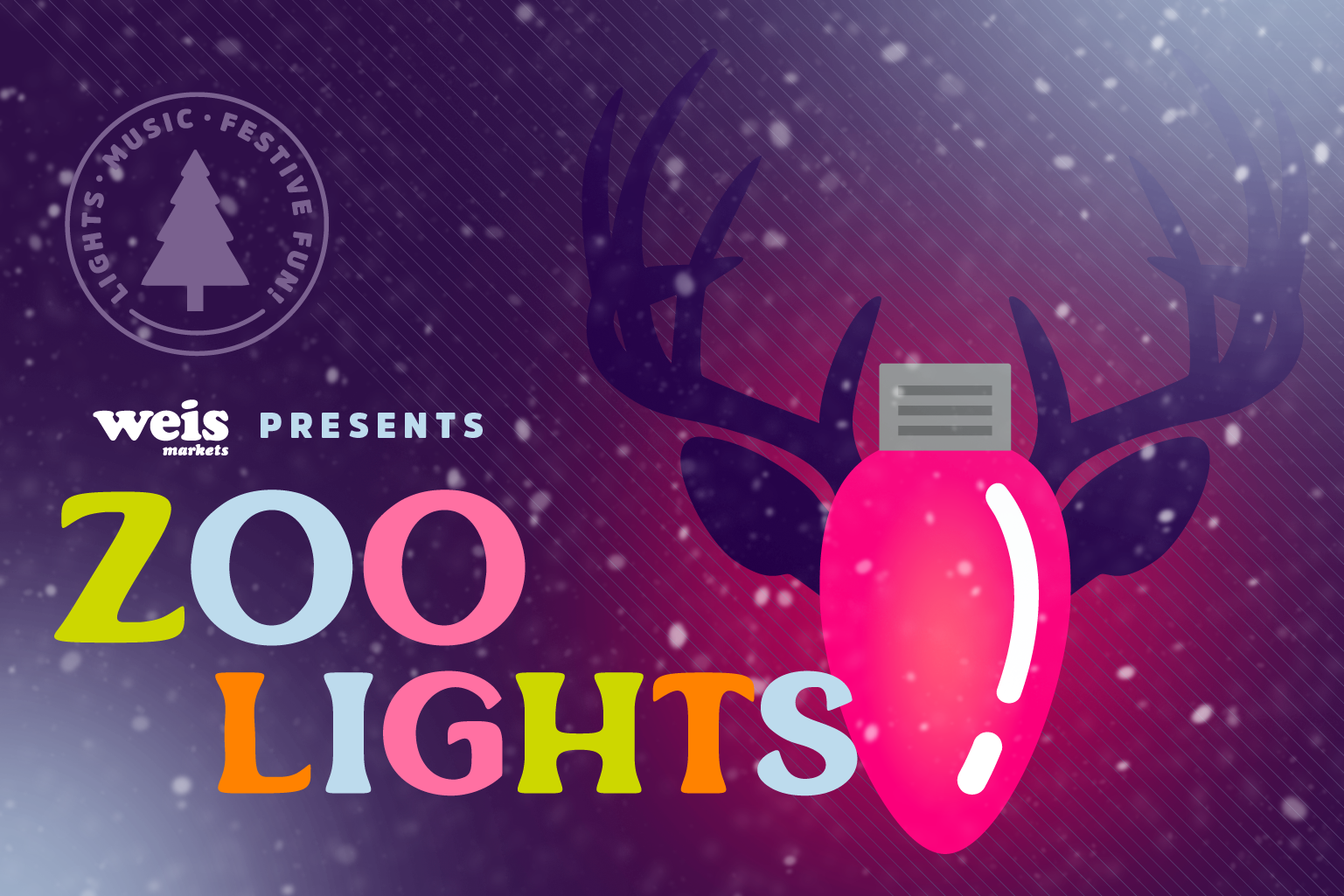 Weis Markets presents Zoo Lights