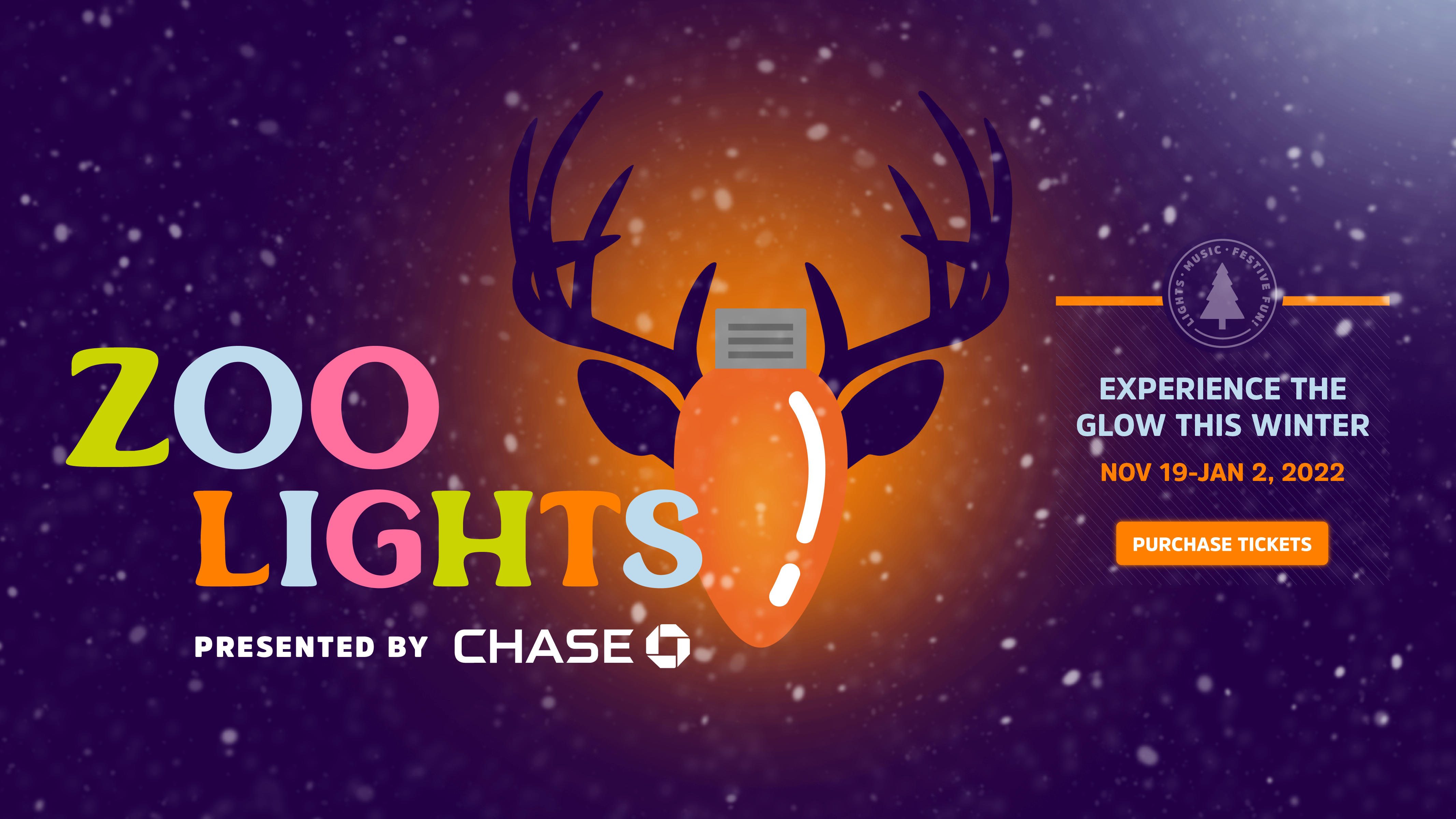 Zoo Lights presented by Chase